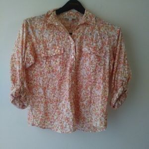 Loft cotton button down